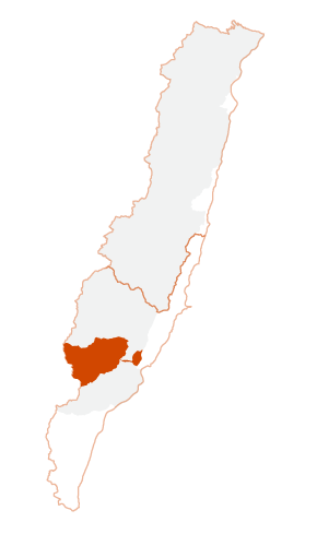 Location of Yanping Township