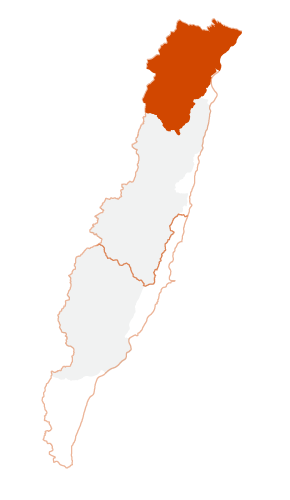 Location of Xiulin Township